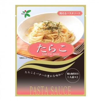TOHO 桃宝食品 和えるパスタたらこ (26g×2)×80個入り (送料無料) 直送
