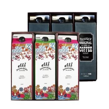アイスコーヒー & 紅茶セット ICED COFFEE & ICED TEA 6 ×3セット