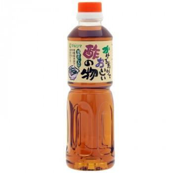 マルシマ かけるだけでおいしい酢の物酢 ペットボトル 500mL×3本 1710 (送料無料) 直送