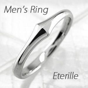 リング メンズ 指輪 マリッジリング 結婚指輪 細身 地金 プラチナ 900