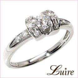 (リュイール)Luire ダイヤリング 0.30ct エンゲージリング プラチナ900 婚約指輪
