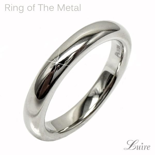 (リュイール)Luire 地金リング 結婚指輪 レディースリング マリッジリングK10WG/YG/PG