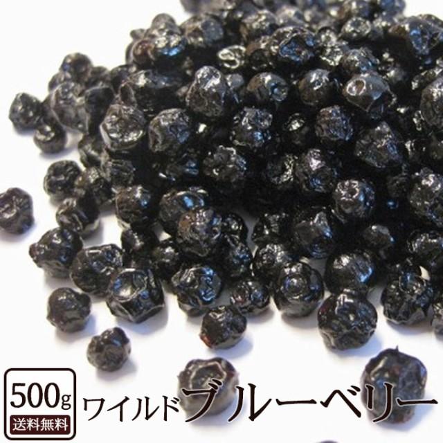 ドライフルーツ ブルーベリー ワイルドブルーベリー 500g アメリカ産 [ ベリー 1000g 野生種 ドライ フルーツ 送料無料 ]