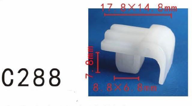 クリップ リベット トヨタ系 ライト用 PF-C288 10個