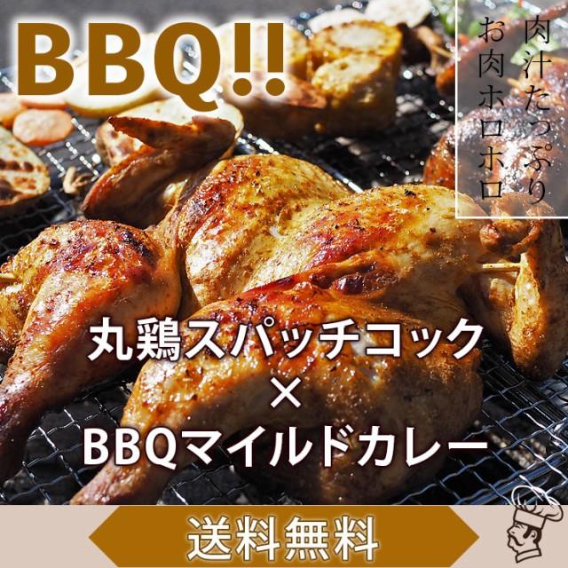 【 送料無料 】 バーベキュー BBQ 鶏の丸焼き 丸鶏 1羽 ボリューム カレー グリル 生 惣菜 肉 チルド 冷凍 アウトドア パーティー