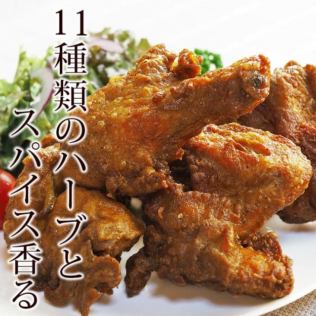 唐揚げ 丸鶏 フリット オリジナルチキン 半羽(約550g) フライドチキン 惣菜 おかず パーティー 肉 ギフト 生 チルド