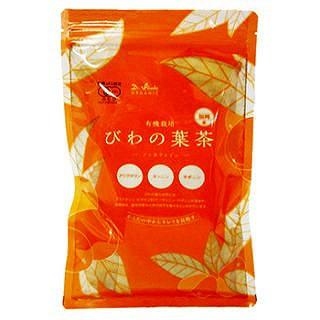 有機JAS びわの葉茶 ティーバッグ ハーブティー オーガニック 国産 ビワの葉 お茶 ギフト プレゼント