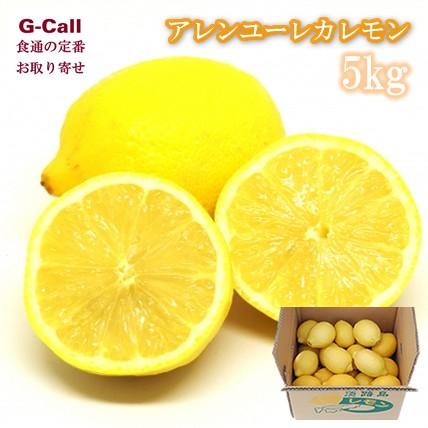 平岡農園 淡路島レモン アレンユーレカレモン 5kg