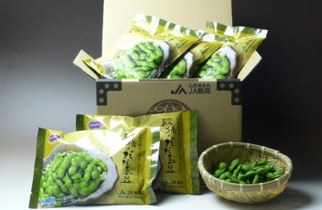 JA鶴岡 <冷凍> 山形鶴岡産 殿様のだだちゃ豆 200g×10パック