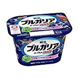【冷蔵】【送料無料】明治 ブルガリアヨーグルト 脂肪0ブルーベリー種のベリー180gX10個