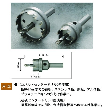 BM 超硬ホルソー SH-32 32mm