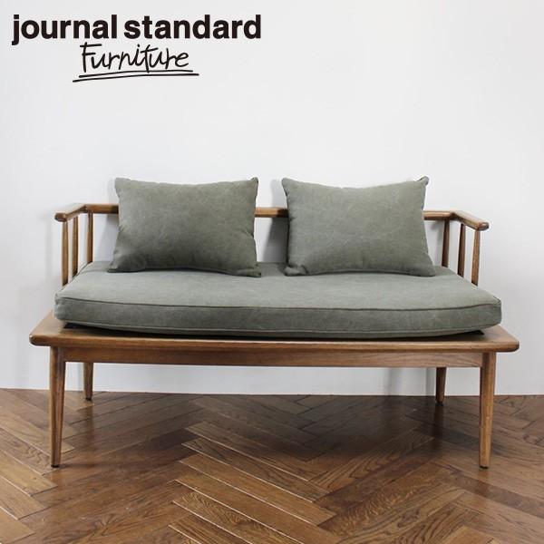journal standard Furniture ジャーナルスタンダードファニチャー ALVESTA BENCH KH アルベスタ ベンチ カーキ ベンチ ベンチシート【送