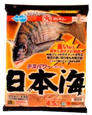 【釣り餌】【マルキュー】チヌパワー日本海 4.5k入り