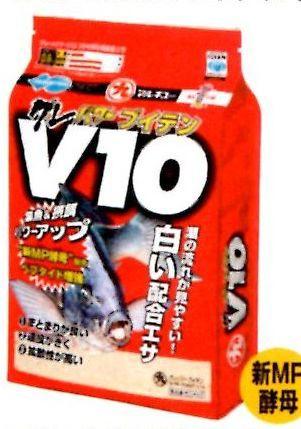 釣りえさ 集魚材【マルキュー】グレパワー V10 1.6k入り