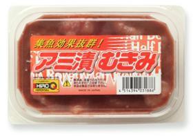 【釣り餌】【ヒロキュー】 アミ漬むきみ [冷凍商品]