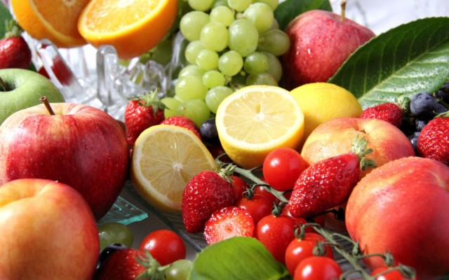 絵画風 壁紙ポスター カラフルなフルーツ 太陽の果実 パッションフルーツ 果物 FFRT-007W2 (ワイド版 603mm×376mm)