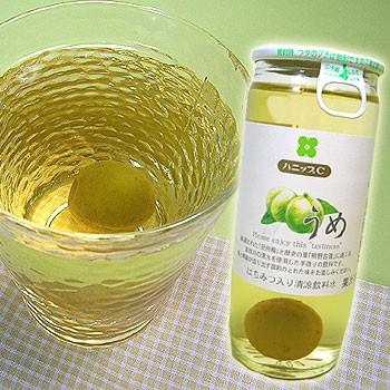 紀州産 ハニップCうめ(200g×15本入)【送料無料】りんご果汁とハチミツ入りのさわやかドリンク!甘酸っぱさが お口の中に広がる梅の実