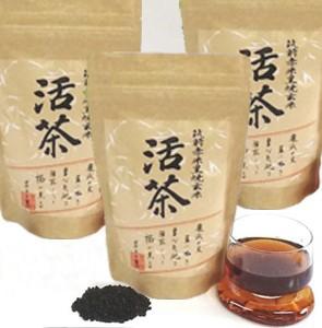 黒焼き赤米玄米茶 3個セット バラ包装タイプ 活茶 300g