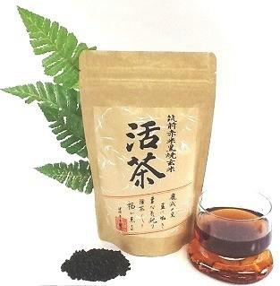 黒焼き赤米玄米茶 ヒート包装タイプ 活茶300g 15g×20包