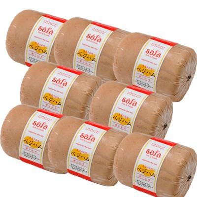 ベジハム ボンレス 1ケース(8個入) 大豆たんぱく ベジタリアン ヘルシー食品 ※冷凍配送