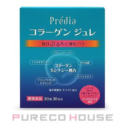 コーセー プレディア コラーゲン ジュレ EX ノンシュガー (ピーチ ライチ味) 15g×30袋