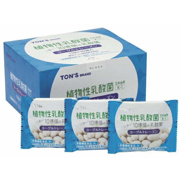 東洋ナッツ 植物性乳酸菌 ヨーグルトレーズン 10g 30袋入り×2箱(合計60袋)