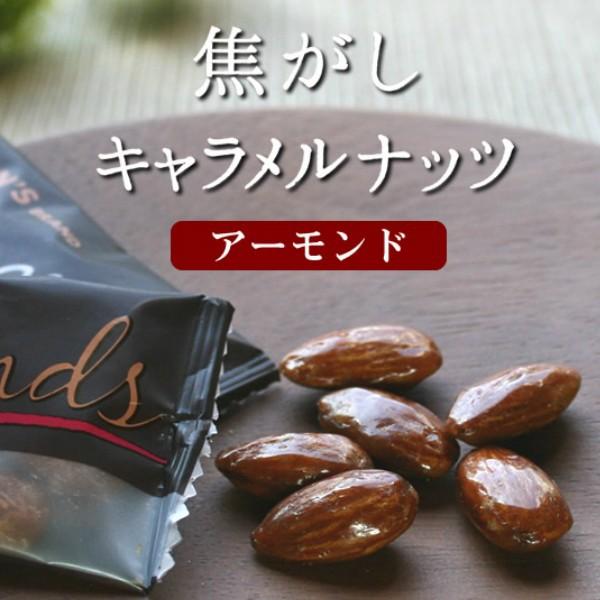 東洋ナッツ 焦がしキャラメルナッツ アーモンド 105g×4袋