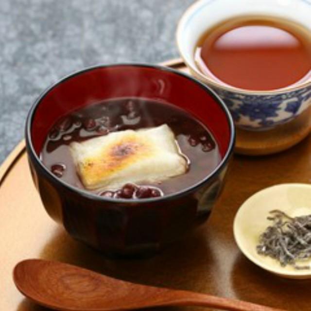 信玄食品 レンジでお汁粉(おもち入り)170g×3食<ゆうパケット>