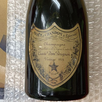 ドン ペリニヨン ヴィンテージ 1978 750ml [フランス/スパークリングワイン/辛口/ミディアムボディ/1本]