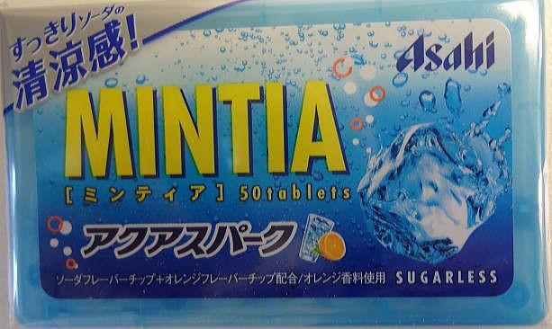 アサヒグループ食品 ミンティア アクアスパーク50粒×10個