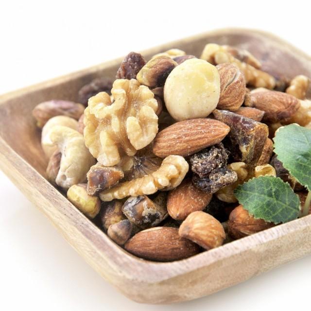 ミックスナッツ 7種 無添加 無塩 200g 素焼き ナッツ 送料無料