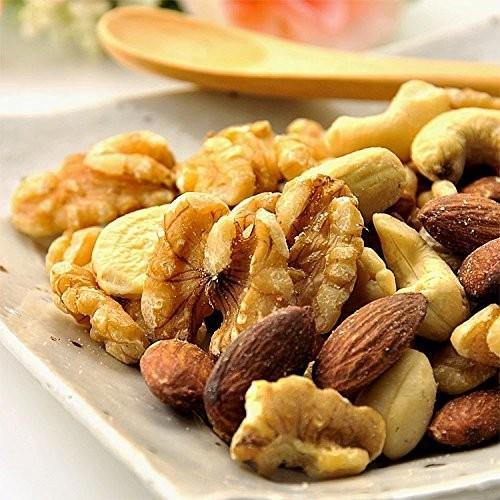 オーガニック ミックスナッツ 無塩 無添加 素焼き 1kg ナッツ 有機 食品 送料無料