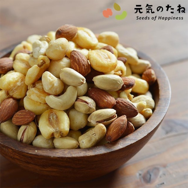 大人の 5種 おつまみ ミックスナッツ 無添加 塩味 ナッツ 100g 送料無料