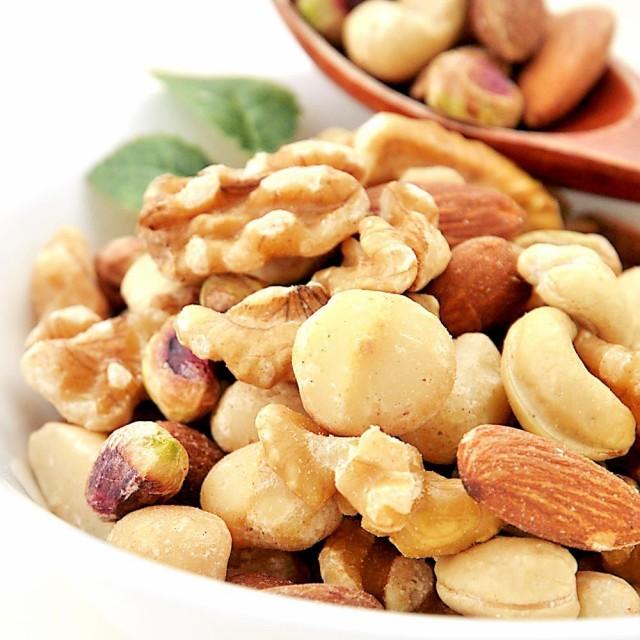 ミックスナッツ 塩味 昔ながら赤穂の天然塩使用 5種ブレンド 1kg 送料無料