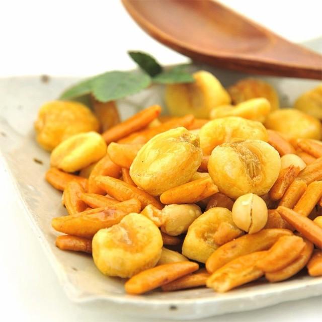 柿の種 & ジャイアントコーン 1袋 500g 柿ピー 塩こしょう味 送料無料