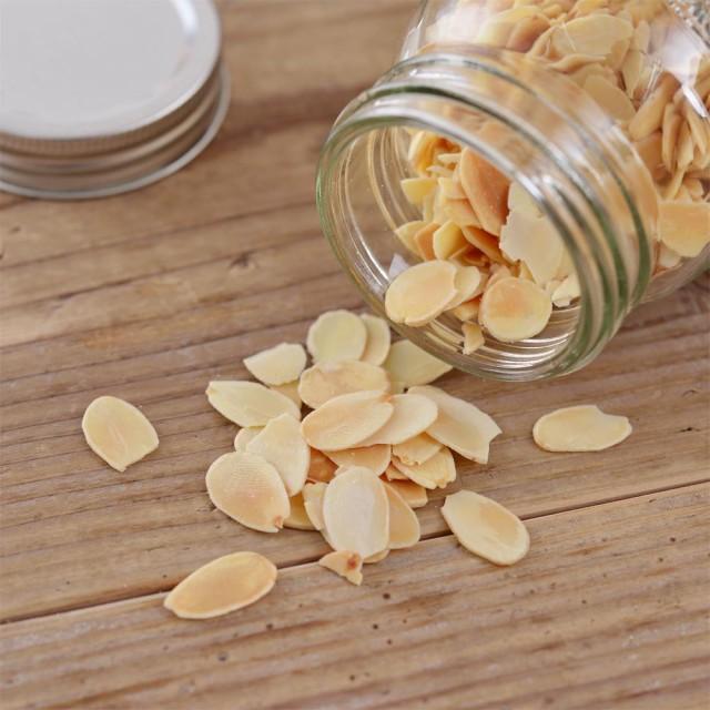 アーモンド スライス 素焼き ナッツ 無塩 無添加 500g 送料無料