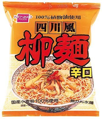 健康フーズ 四川風柳麺(辛口)100g