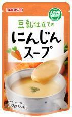 マルサン 豆乳仕立てのにんじんスープ 180g お得な10個セット