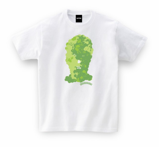 宮城県 お土産 ご当地Tシャツ ずんだマンTEE(ホワイト) おもしろtシャツ tsyatu おもしろ Tシャツ プレゼント ギフト GIFTEE