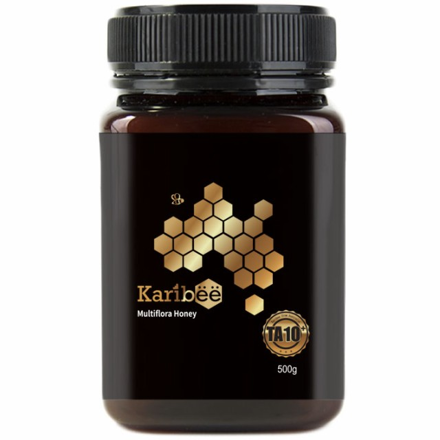 【送料無料】マルチフローラハニー TA10+ 500g キャリビー オーストラリア産 天然蜂蜜 はちみつ ハチミツ