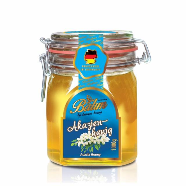 【送料無料】ドイツ産 はちみつバリム アカシアハニー 1kg ドイツ産 アカシアはちみつ 1kg アカシア蜂蜜 はちみつ ハチミツ 蜂蜜