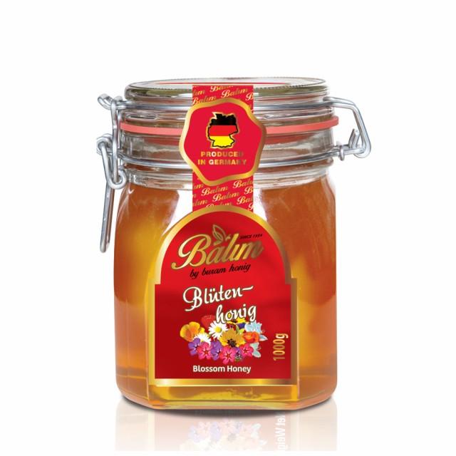 【送料無料】ドイツ産 はちみつ バリム ブロッサムハニー 1kg ドイツ産 百花蜂蜜 1kg 百花蜜 Balim(バリム)ハニー 蜂蜜