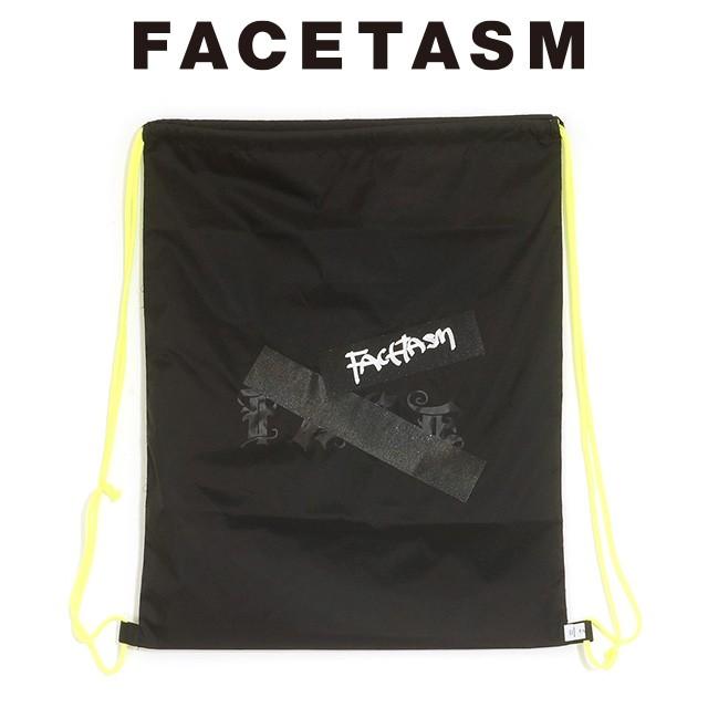 FACETASM ファセッタズム GUMTAPE LOGO NAP SAC ガムテープ ロゴ ナップサック 2020 新作