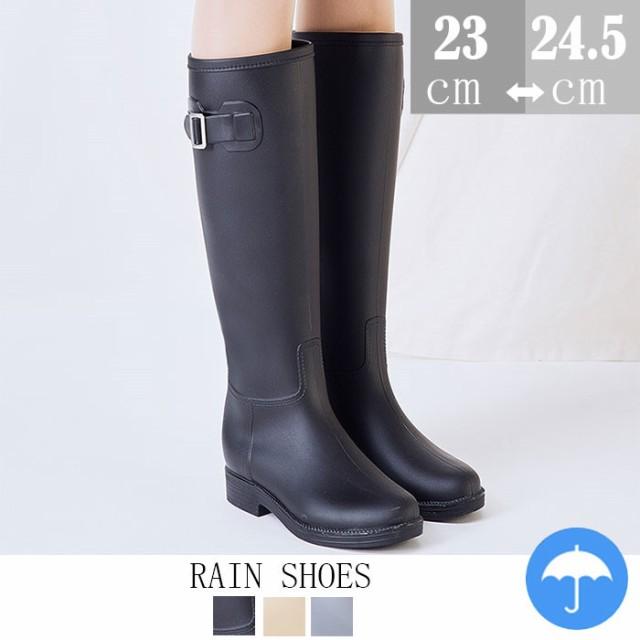 レインブーツ 長靴 レディース/ロングレインブーツ/ラバーブーツ/レインシューズ/ゴム長靴/雨靴/梅雨 雨の日/雨具/ジョッキーブーツ/防水