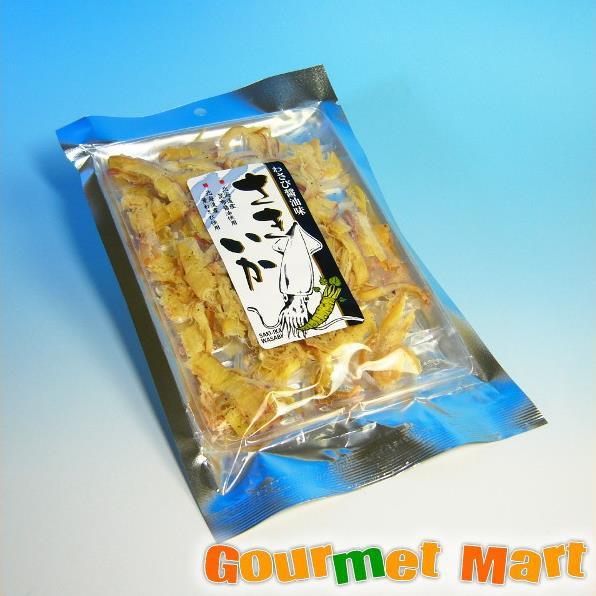 お取り寄せグルメ ギフト プレゼント 北海道産葉わさび使用 さきいか わさび醤油味