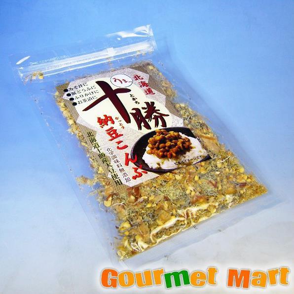 お取り寄せグルメ ギフト プレゼント ご飯のお供 北海道 十勝納豆こんぶ