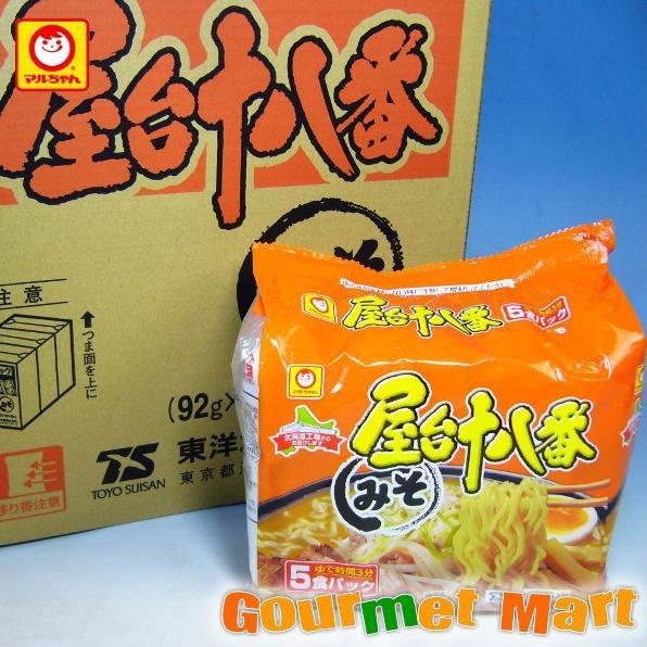 贈り物 ギフト 東洋水産 マルちゃんの屋台十八番 みそ味 30食セット!