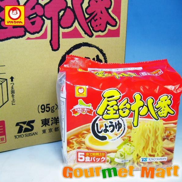 お取り寄せグルメ ギフト プレゼント 東洋水産 マルちゃんの屋台十八番 しょうゆ味 30食セット!