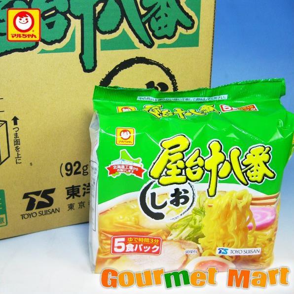 お取り寄せグルメ ギフト プレゼント 東洋水産 マルちゃんの屋台十八番 しお味 30食セット!