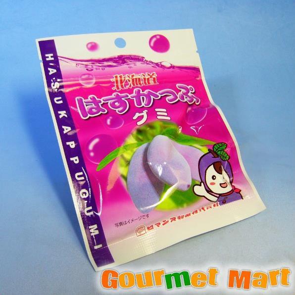贈り物 ギフト 北海道限定 ロマンス製菓 北海道はすかっぷグミ